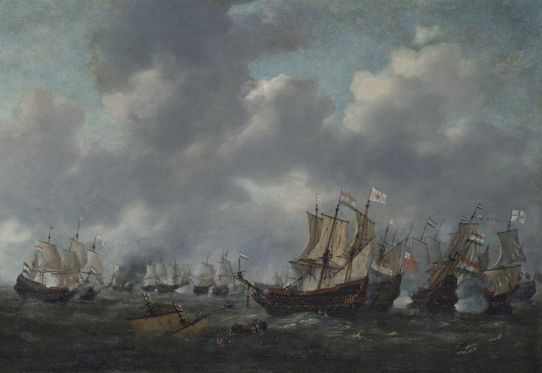 The battle at Livorno