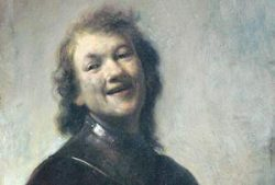 "Sander and ""het lachertje"" of Rembrandt"