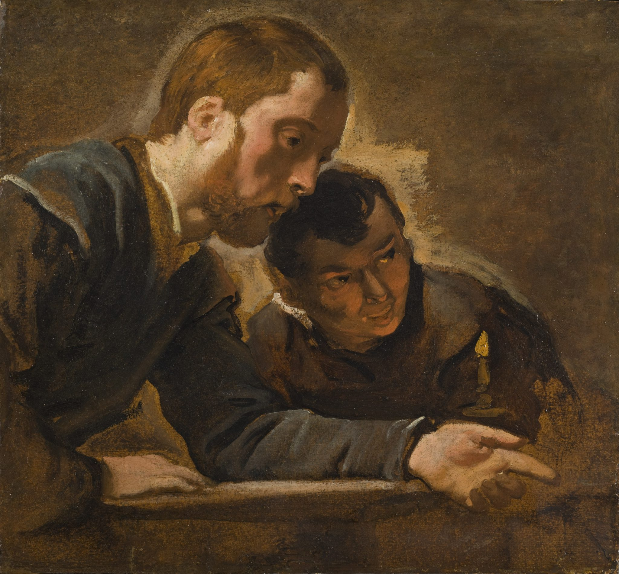 Study of two men