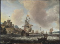Dutch Ships on the Sont