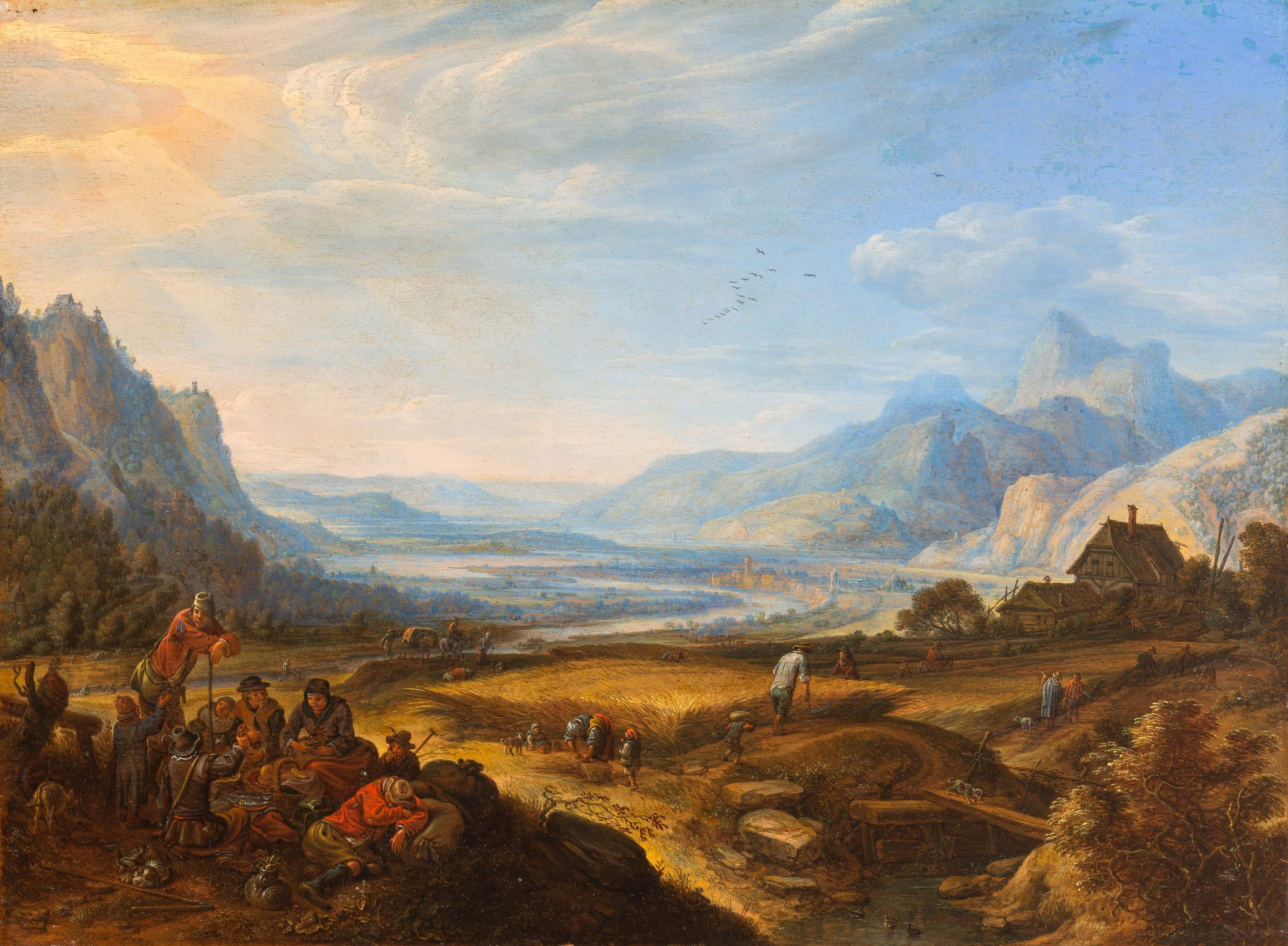 An extensive Mountainous Landscape