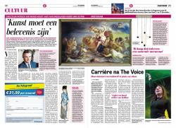 De Triomf van Galatea in de Telegraaf