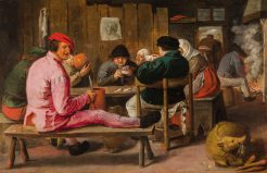 Merry Peasants in an Inn