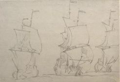 Three Ships, A Study