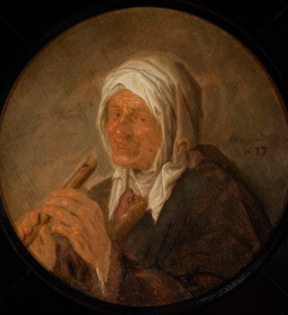 A Peasant Singing and A Peasant Woman with a Recorder