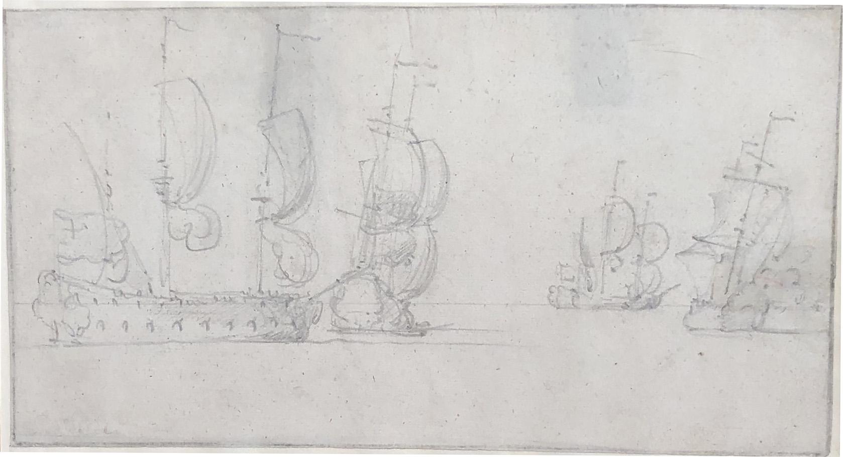 Shipping manouevring at Sea