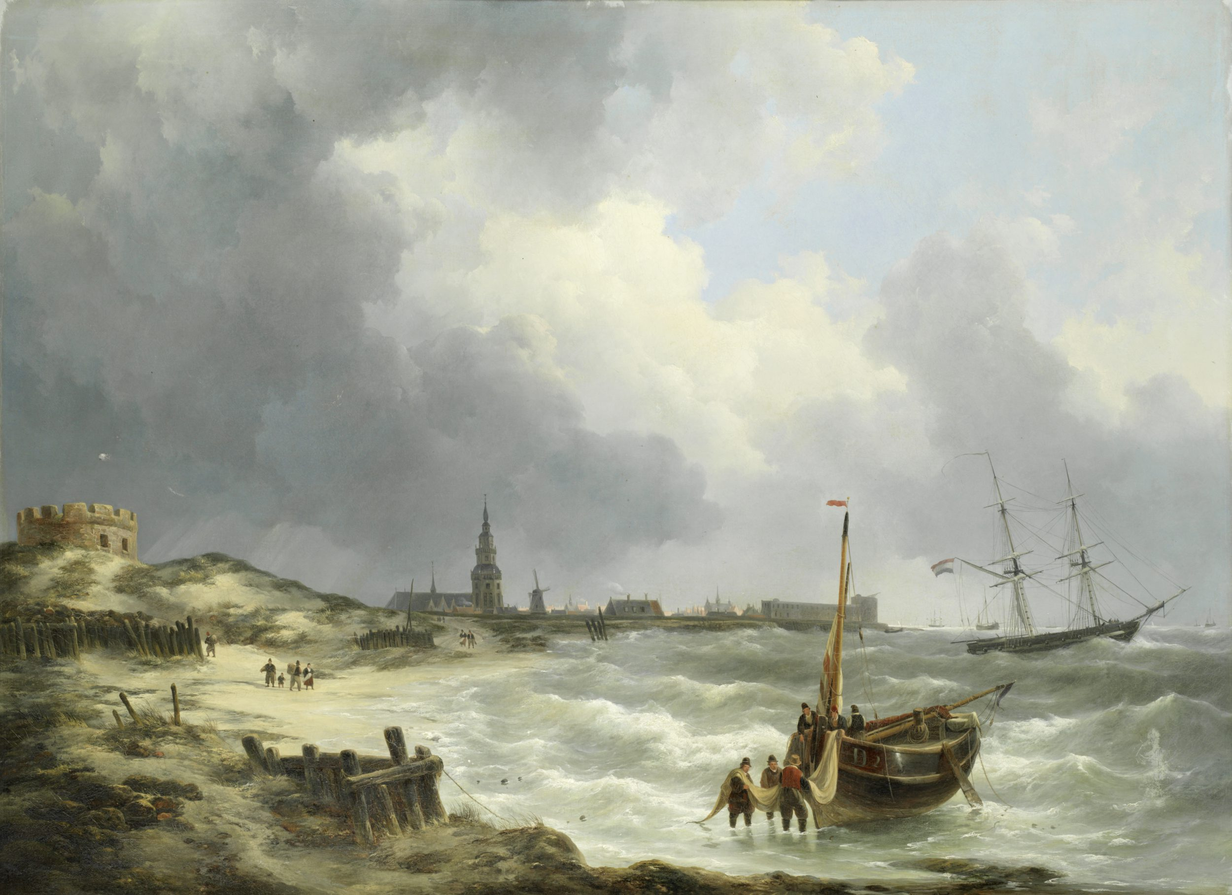 A view on Vlissingen