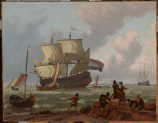 A Dutch Marine Painting