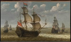De Amelia off the Coast of Dunekerk